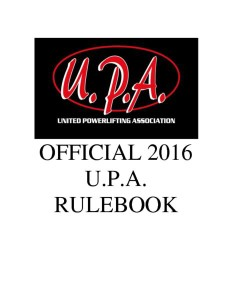 official_upa_rulebook