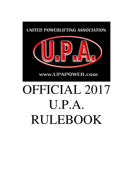 thumbnail of official_upa_rulebook