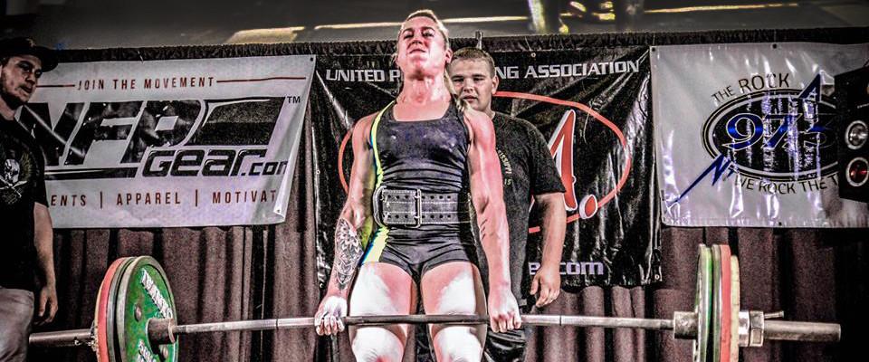 Janis Finkelman 123 lb class Deadlift World Record - 451 lbs  - UPA