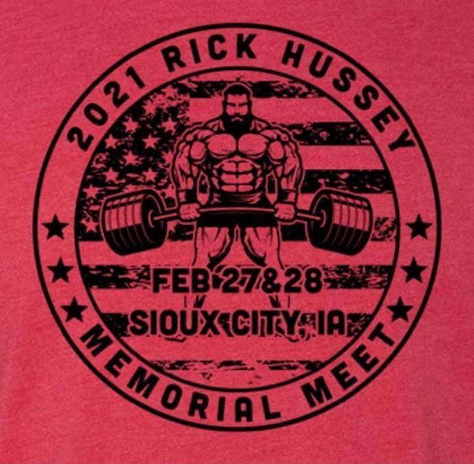 2/27 – 2/28 UPA Big Iron Rick Hussey Memorial Meet – South Sioux City, NE