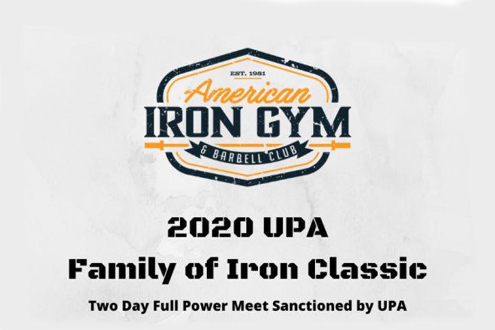 3/15/2020 UPA Family of Iron Classic – Reno, NV