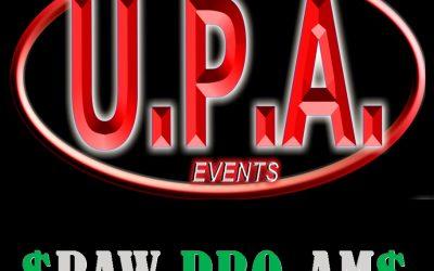 May 23 & 24, 2020 UPA $RAW PRO-AM$ – Dubuque, IA