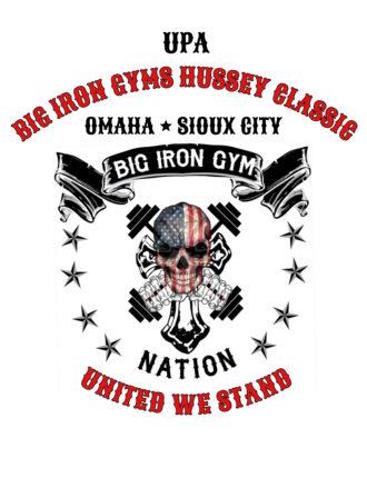 8/10 & 11/2019 UPA Big Iron Gyms Hussey Classic – Omaha, NE