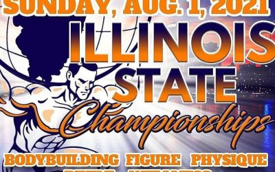 August 1, 2021 NPC Illinois State Championship – Chicago, IL