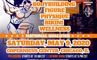 May 9, 2020 NPC Illinois State Championships – Chicago, IL
