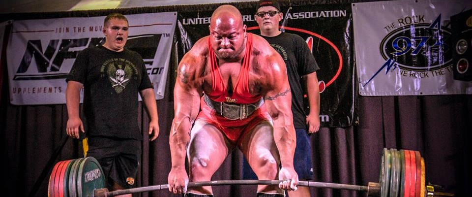 Eric Lilliebridge – 308 lbs Class – 2,430 lbs. All-Time WR Raw total w/ wraps