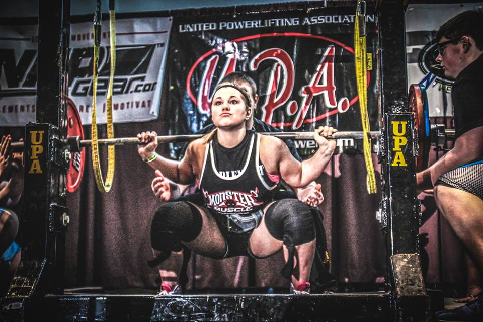 Brittany Demmer – 181 lb Class – 380 lbs.