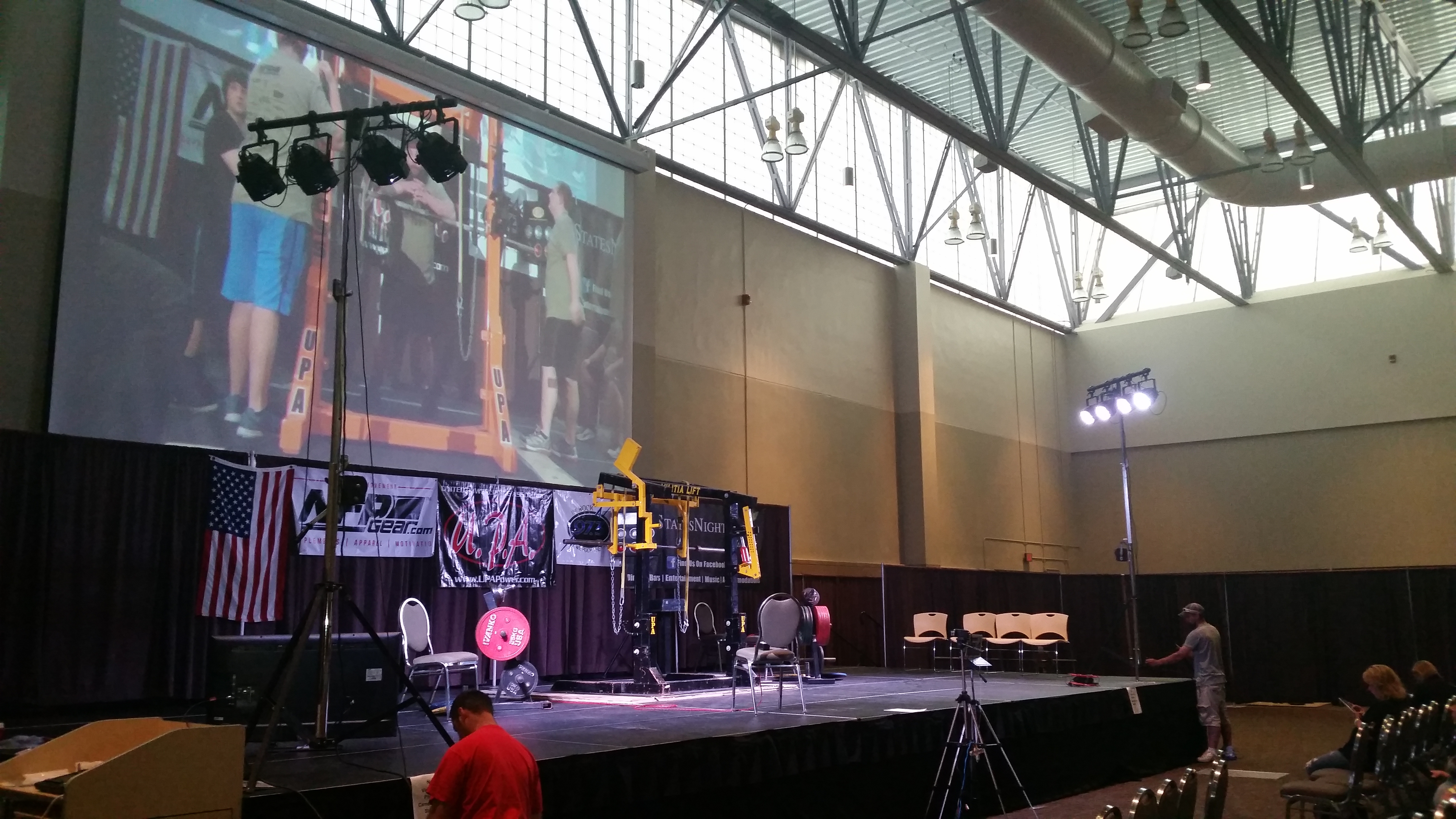 UPA Events Powerlifting & NPC Bodybuilding Stage