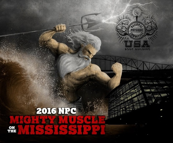 NPC Mighty Muscle on the Mississippi Stage Background…