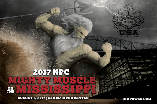 8/5/17 NPC Mighty Muscle on the Miss. – Dubuque, IA.