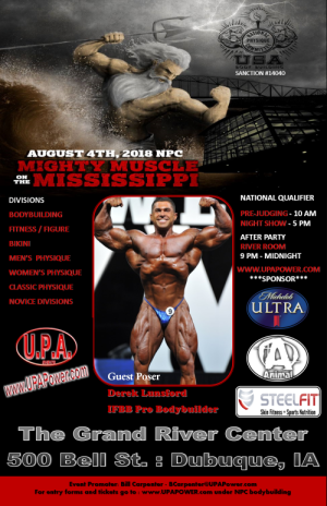 8/4/2018 NPC Mighty Muscle on the Mississippi – Dubuque, IA