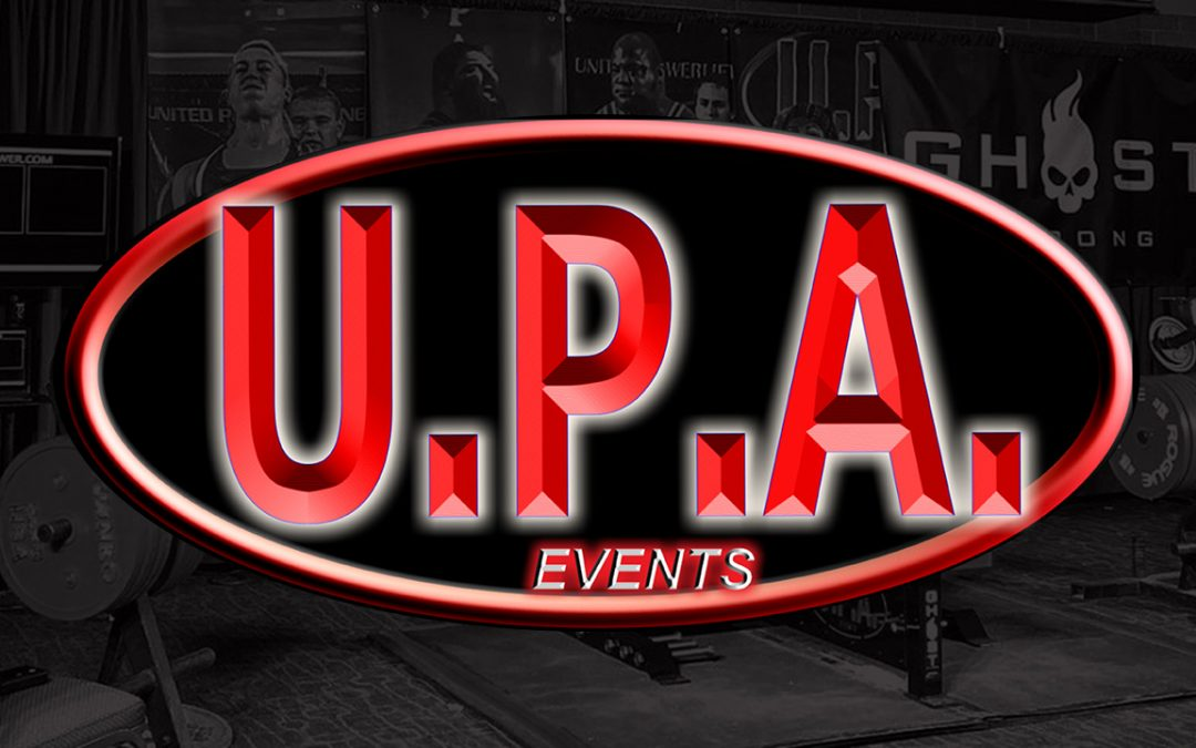 Dec. 5 & 6 UPA Powerlifting National Championship – Peoria, IL