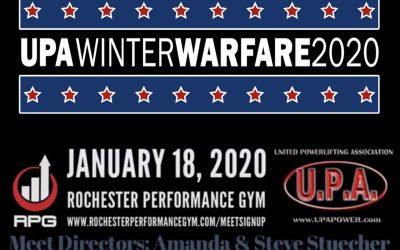 1/18/2020 Winter Warfare – Rochester, MI