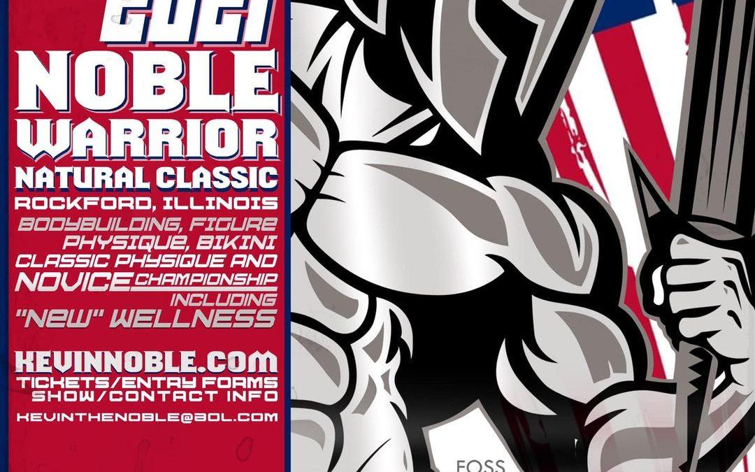 October 9, 2021 NPC Noble Warrior Natural Classic – Rockford, IL