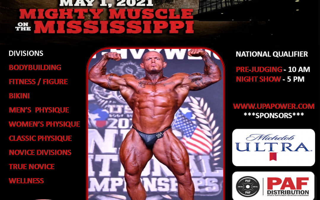 May 1st, 2021 NPC Mighty Muscle on the Mississippi – Dubuque, IA