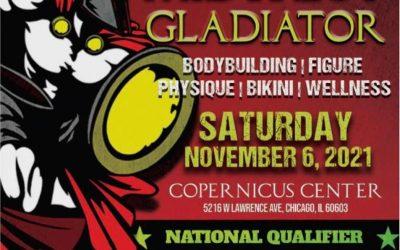 November 6, 2021 NPC Midwest Gladiator – Chicago, IL